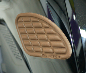 "SIDE PAD ""SOFT TOUCH"" BROWN LEATHER - Onedesign Corp"