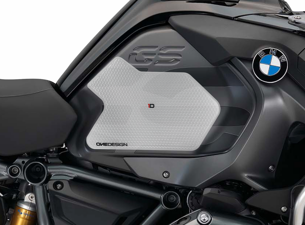 FIT 2014-2018 BMW R 1200 GS ADV HDR SIDE PAD TRASPARENT - Onedesign Corp