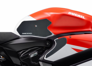 DUCATI PANIGALE 899-959 / 1199-1299 HDR SIDE PAD BLACK (FITS VARIOUS YEARS) - Onedesign Corp
