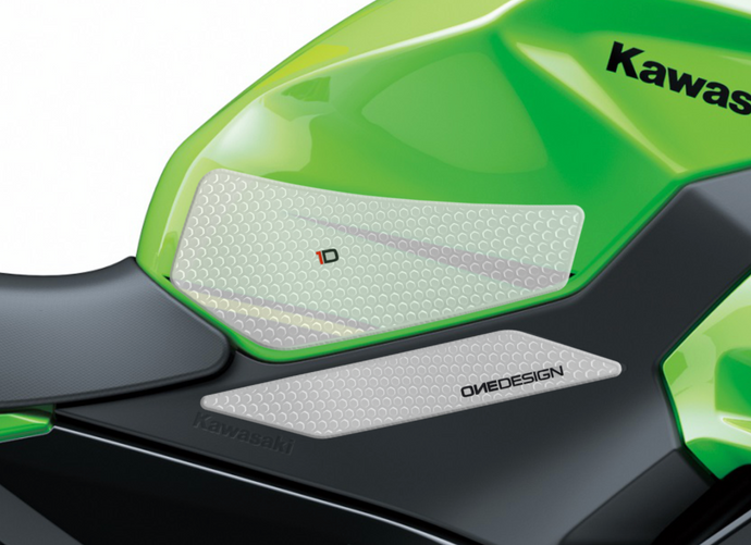 2018-2019 KAWASAKI NINJA 400 HDR SIDE PAD TRANSPARENT - Onedesign Corp