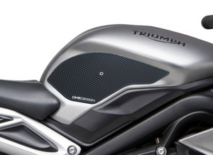 2017-2019 TRIUMPH DAYTONA 675 / STREET TRIPLE HDR SIDE PAD BLACK - Onedesign Corp