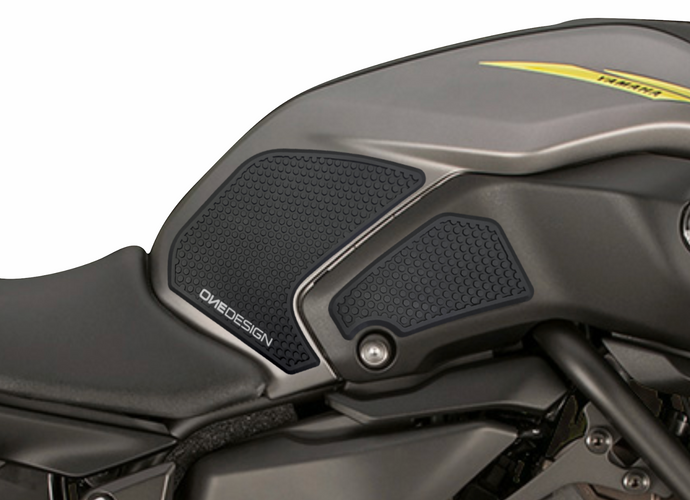 2018-2019 YAMAHA MT 07 HDR SIDE PAD BLACK - Onedesign Corp