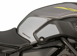 2018-2019 YAMAHA MT 07 HDR SIDE PAD TRANSPARENT - Onedesign Corp