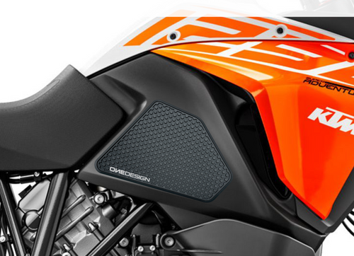 FIT 13-19 KTM 1050/1090/1190/1290ADV/ADVR/ SUPERADV/R/S/T(DUKE 690 08-11)HDR PAD BLACK(VARIOUS MODELS)