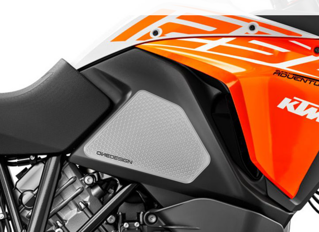 FIT 13-19 KTM 1050/1090/1190/1290ADV/ADVR/SUPERADV/R/S/T (DUKE 690 08-11) HDR SIDE PAD (VARIOUS MODELS) - Onedesign Corp