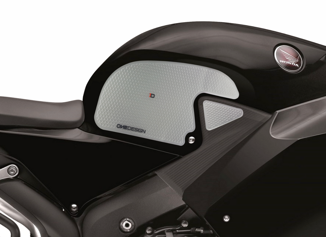 FIT 2013-2017 HONDA CBR 600 RR HDR SIDE PAD TRANSPARENT - Onedesign Corp