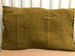 19 colours - Harmony - Viti linen cushion cover - 55x110 cm - giant