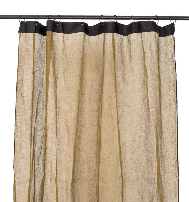 4 colours - Harmony - Bonifacio linen curtains - 140x280 cm