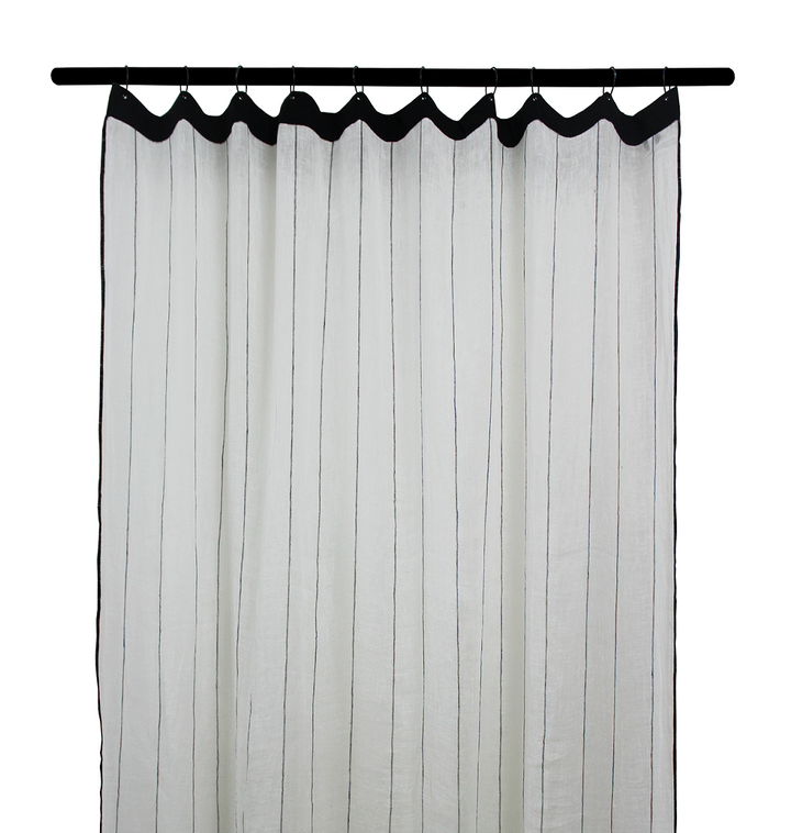 2 colours - Harmony - Calvi linen curtain - 140x280 cm