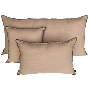 11 colours - Harmony - Mansa linen cushion cover - 55x110 cm - giant