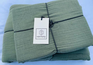 7 colours available - Harmony - Dili washed cotton duvet cover
