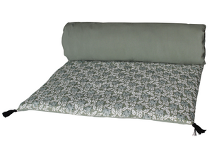 2 colours - Harmony - Gaya linen bed runner, quilt cover - 85x200 cm