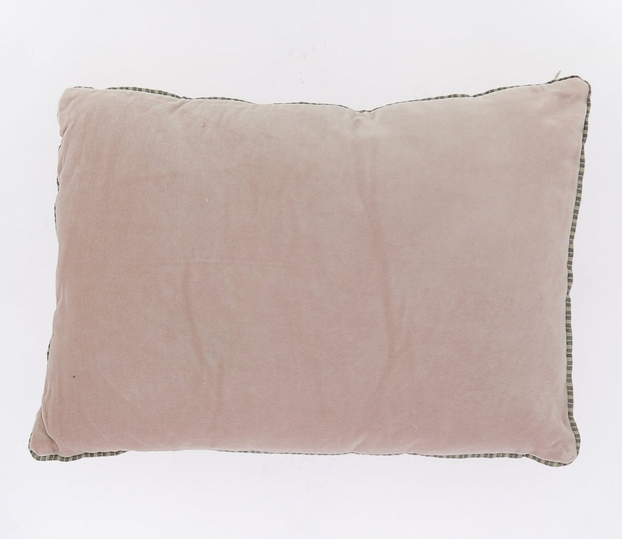 6 colours - Indian Song - Namaste velvet cushion - 35x50 cm