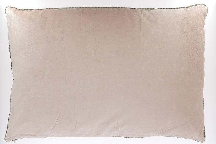6 colours - Indian Song - Namaste giant velvet cushion - 50x100 cm