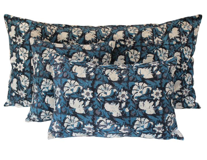 3 colours - Harmony - Nathan velvet cushion cover - 45x45 cm or 40x60 cm