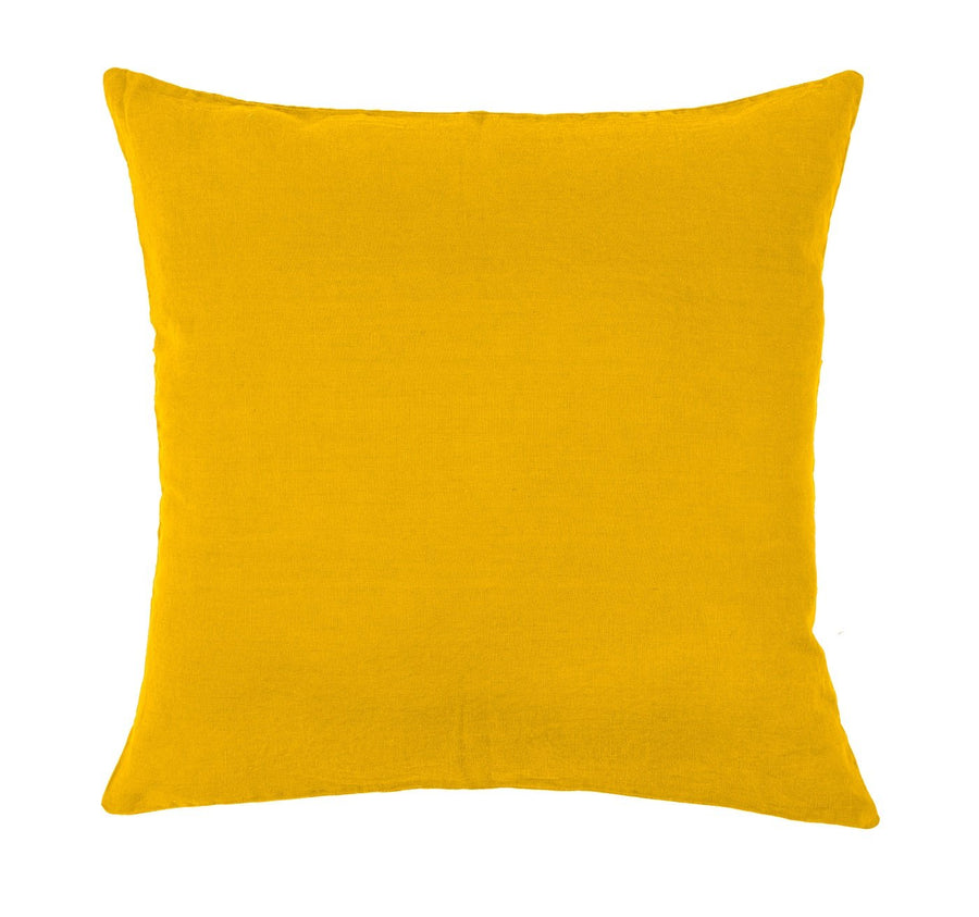 15 colours - Harmony - Propriano linen cushion cover - 80x80 cm - giant