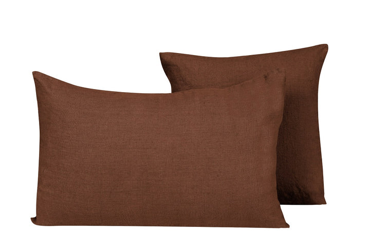 15 colours - Harmony - Propriano linen cushion cover - 40x60 cm - rectangular