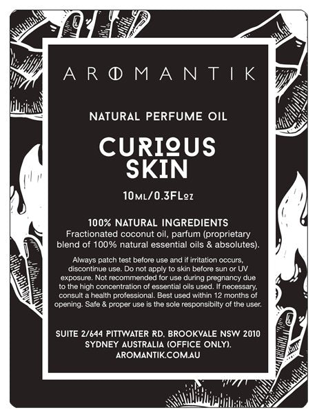 Curious Skin Natural Perfume Oil