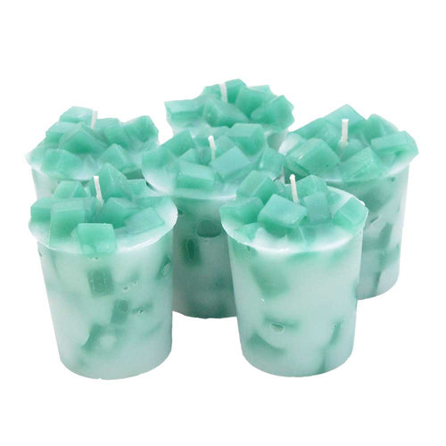 Eucalyptus Spearmint Votive Candles- FREE Shipping