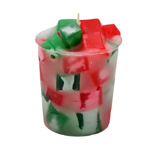 Spruce Christmas Tree Votive Candles