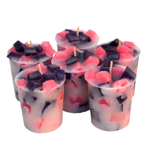 Birds of Paradise Votive Candles