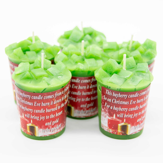 Christmas Bayberry Candles-FREE Shipping
