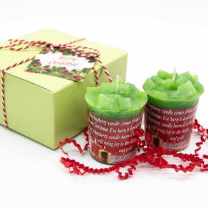 Christmas Candles-Bayberry Candles-Christmas Gift Idea - Free Shipping