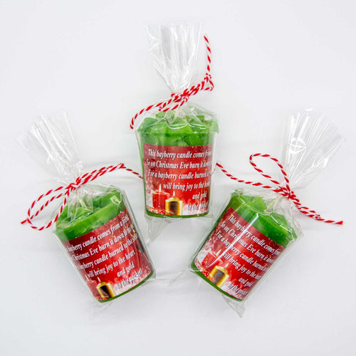 12 Bayberry Candles-Christmas Candles-FREE Shipping
