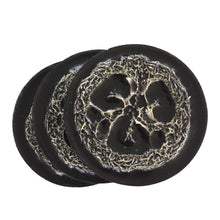 Load image into Gallery viewer, Charcoal Olive Oil Loofah Soap- Dragon's Blood