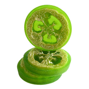 Lime Olive Oil Loofah Soap-Free Shipping
