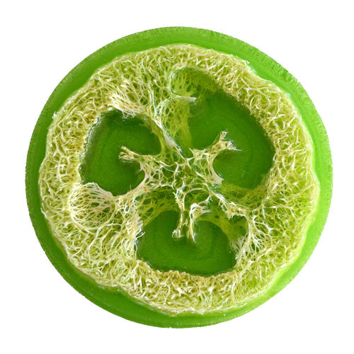 Olive Oil Loofah Soap - Lime