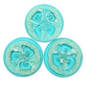 Olive Oil Loofah Soap - Ocean