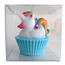Load image into Gallery viewer, Unicorn Cupcake Shea Butter Soap - Baby Powder