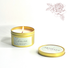 Load image into Gallery viewer, NEW Matin d'Été Tin Candle | green tea, mint, bergamot