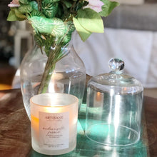 Load image into Gallery viewer, Mademoiselle Jasmin Glass Jar Candle | jasmine flowers