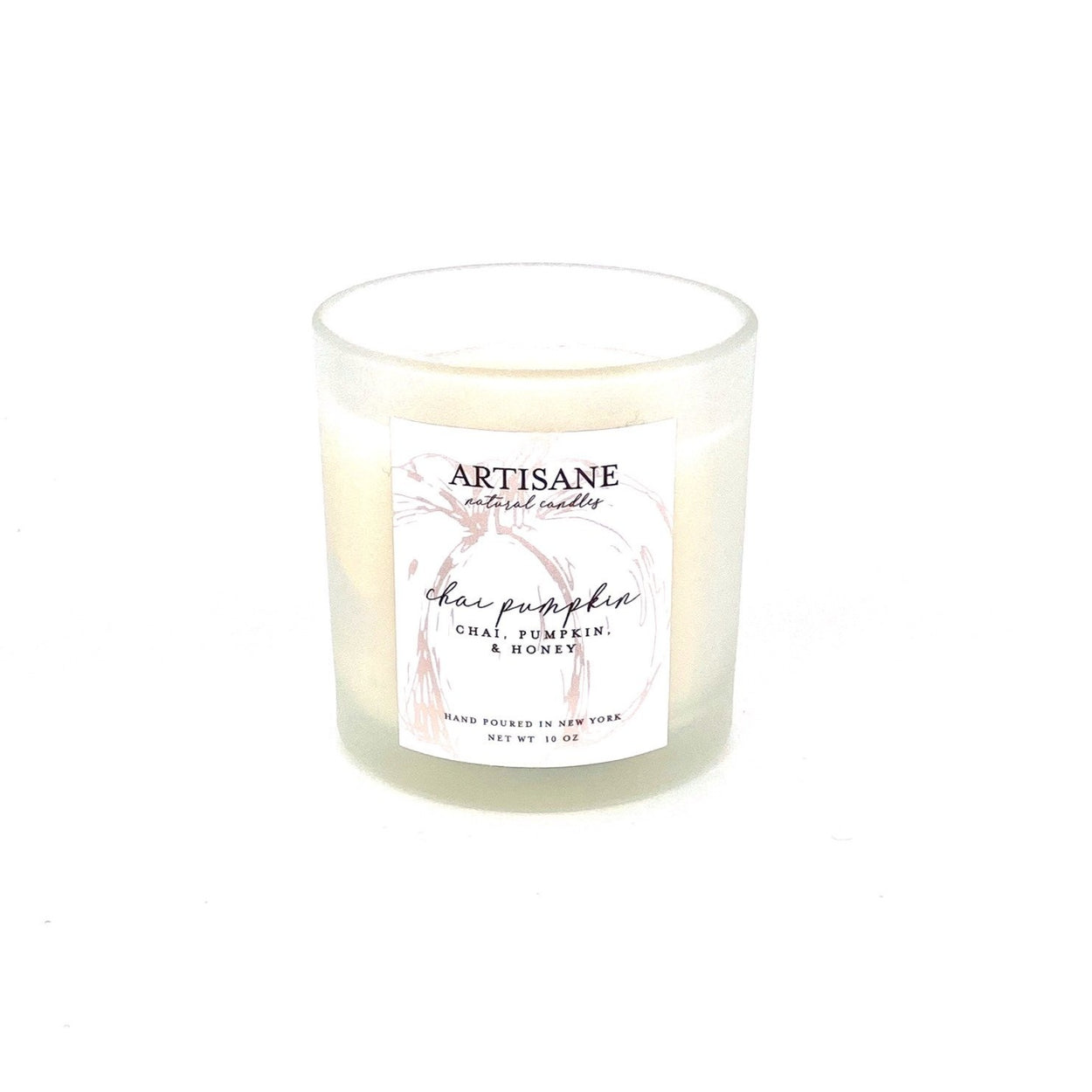 Chai Pumpkin Candle (chai, pumpkin, honey) - LIMITED EDITION