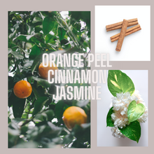 Load image into Gallery viewer, Spiced Orange Gold Tin Candle | orange peel, cinnamon, jasmine