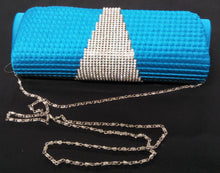 Blue or Orange Clutch Bag