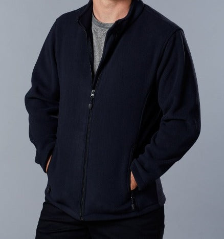 Polar Fleece Plus Size Jacket (Navy)