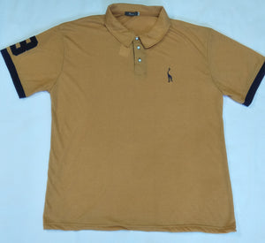Men's Short Sleeve Polo Shirt - Fawn