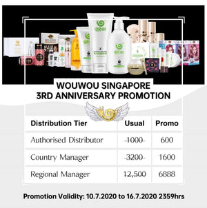 WOUWOUSG 3rd Anniversary Distribution promotion!