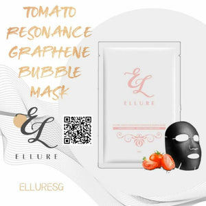 Ellure Tomato Resonance Graphene Bubble Mask