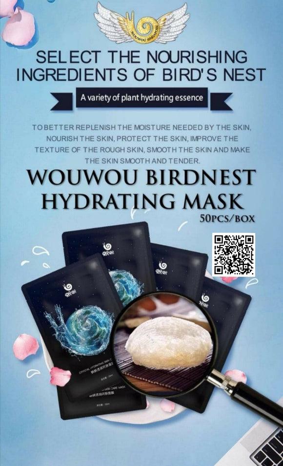 WouWou Birdnest Hydrating Face Mask
