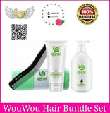 WouWou Hair Mask 180ml + Shampoo (WouWou Hair Bundle Set)