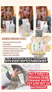 3 FREE Scalp Cleansers w Hair Care Series Promotion