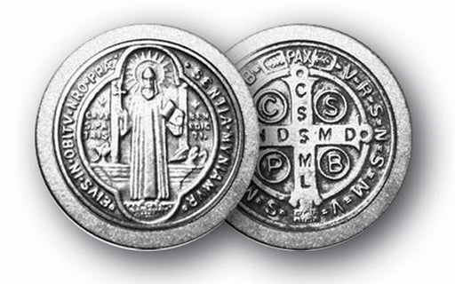 St Benedict Protection From Evil Coin