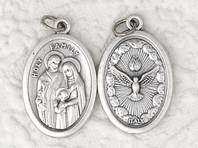 Holy Family and Holy Spirit Pendant