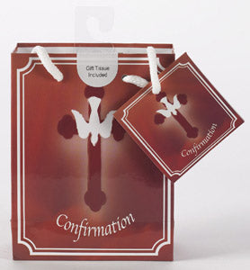 Small Confirmation Gift Bag with Gift Tissue