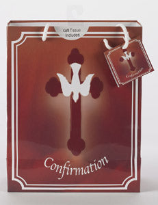 Large Confirmation Gift Bag with Gift Tissue