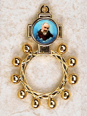 Padre Pio Finger Rosary